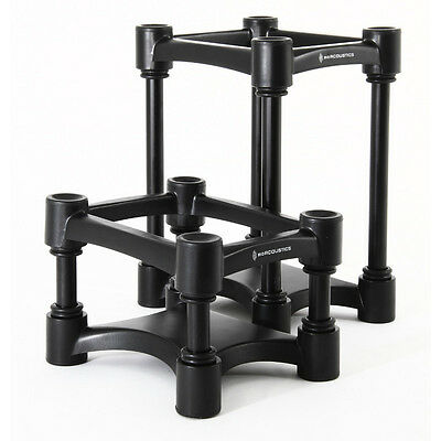 IsoAcoustics ISO-L8R155 Height Adjustable Speaker Isolation Stands (Pair)