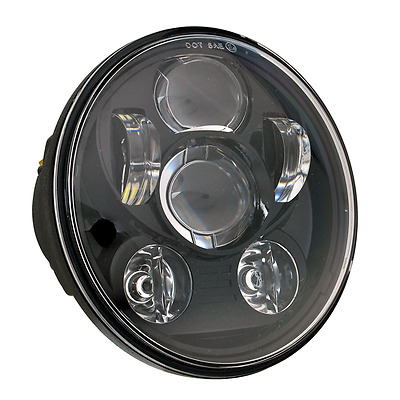"5-3/4"" Daymaker Round LED Headlight for Harley Davidson Kickfaire Projector Moto"