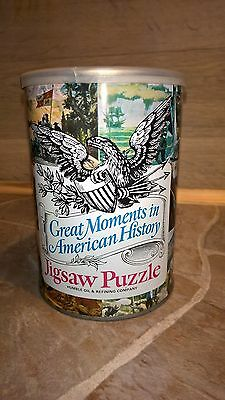 Humble Oil & Refining Company Jigsaw Puzzle NOS Station-Garage Vintage Sealed