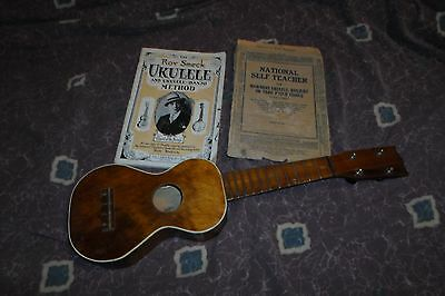 Circa 1930 Regal Soprano Ukulele all Mahogany VG+ Chicago USA **Worldwide**