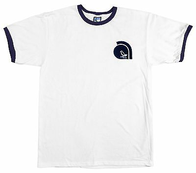 West Bromwich Albion 1978-80 Retro Trim Football T Shirt S-XXL Embroidered Logo