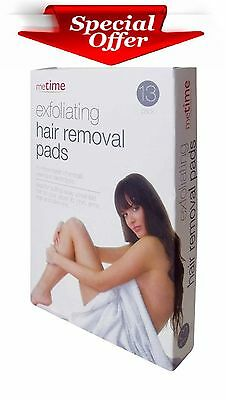 Smooth Painless Hair Removal Legs Face Arm Sheer Skin Pads Silky Mitt 13 Pack