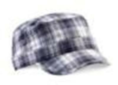 Clearance Offer of 23 x  Plaid Army Caps Hats at £1.86 each