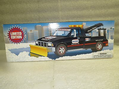 CROWN TOW TRUCK with SNOW PLOW- Limited Edition-1997-MINT in Box
