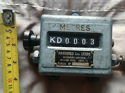 Harding's Vintage Improved Counter Instument in METRES  Serial C. 1884