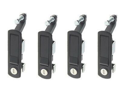 4 x Compression Latch Lever Trigger Lock for Locker Horsebox Trailer C2 Tack Box
