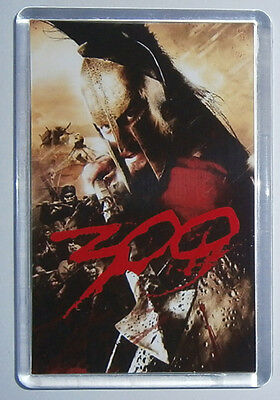 300 Gerard Butler Lena Headey David Wenham movie poster fridge magnet New