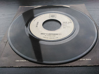 Single The Byrds - Mr. Spaceman - Cbs Italy 1966