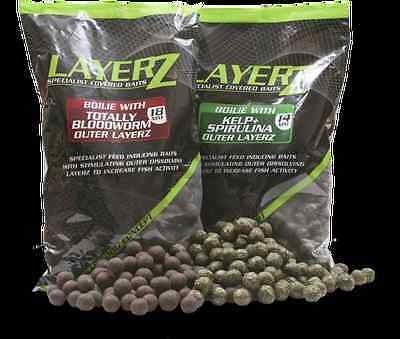 bouillette layerz totally bloodworm 18mm