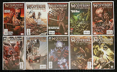 Wolverine Old Man Logan Complete Lot 66-72 & 2 GS Signed McNiven, 1 Variant, NM
