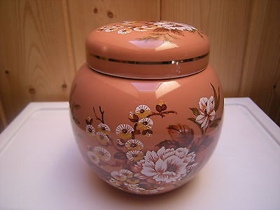 Vintage Sadler Wildwood Ginger Jar Made in England