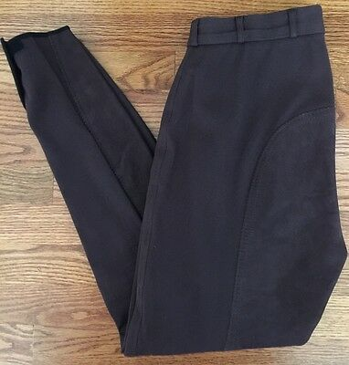 Pikeur Brown English Breeches Riding Pants Leather Equestrian