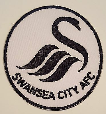 Swansea FC Crest Iron on/sew on soccer football patch badge