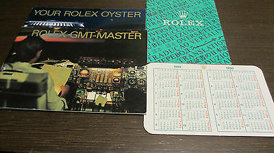 Rolex GMT Master Booklet Set 4 tlg. neuwertig  TOP
