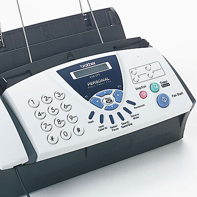 FAX PHONE MACHINE Copier Home Office Plain Paper Personal Telephone