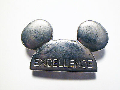Disney Disneyland Mickey Mouse Ears Employee Excellence Metal Pin Mint Condition