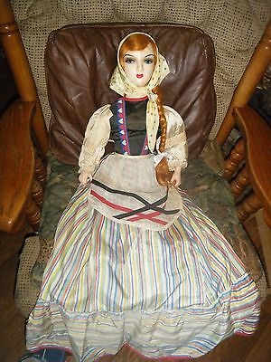 """Gorgeous Bed Doll, All Orig, 34""""  !"""