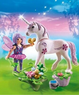 "5440 Playmobil Futter-Fee mit Einhorn ""Morgentau"", NEU, OVP, Magic"