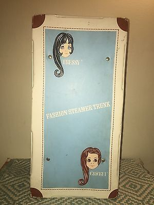 Rare Tressy and Cricket Doll  Fashion Steamer Trunk