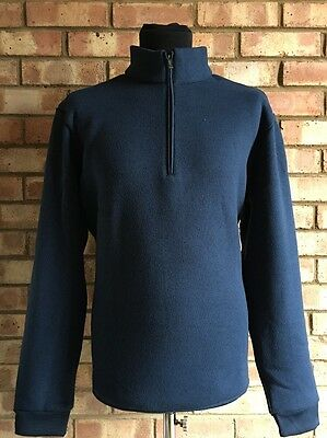 Ashworth Golf Heather Sweater Navy UK XL Clearance BC1198 Thermal Lined