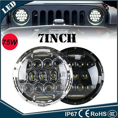 7 inches round led