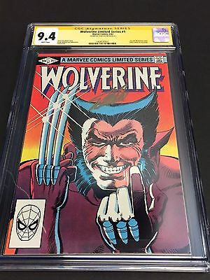 Wolverine #1 Limited 1982 SIGNED Stan Lee SS Signature Series CGC 9.4 NM