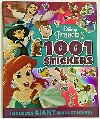 DISNEY PRINCESS 1000 stickers Activity book New!!!!