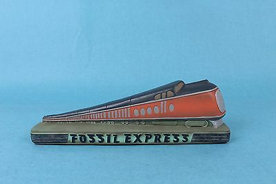 VINTAGE 1990s  FOSSIL WATCH EXPRESS TRAIN COLLECTOR ADVERTISING STORE DISPLAY