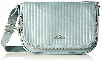 (TG. One Size) Blu (Misty Blue) Kipling Earthbeat S - Borse a tracolla Donna, Bl