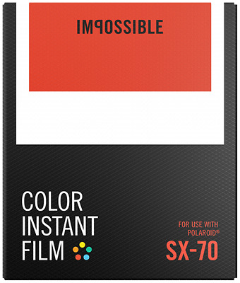 Impossible Color Film For Sx-70 New New