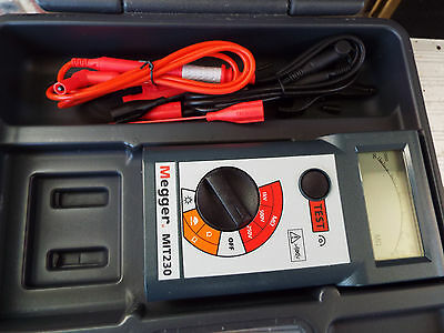 Megger MIT230, Insulation and Continuity Tester Calibration ends 28/09/2017