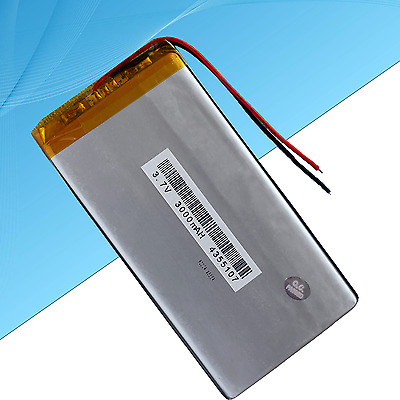 Rechargeable Polymer Lithium Battery for Tablet PC  3000 mAh / 3.7V