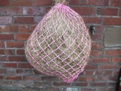 """Horse Haynet / Haylage Net PINK. Small Holes, Large 40"""""""