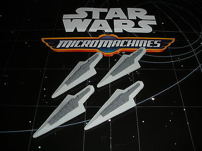 Micro Machines Star Wars The Force Awakens 2015 Lot Super Star Destroyer X4