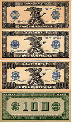 9 Different Play Money Whitman Publishing Co.