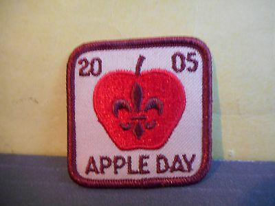 2005 Boy Scouts Apple Day Patch