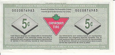 Canada Canadian Tire Store   5 Cents  002087