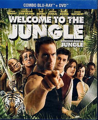 Brand New Blu-Ray+ Dvd //  Welcome To The Jungle // Jean Claude Van Damme