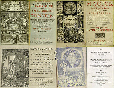 50 Most Scarce, Rare & Old Books On Magic, Conjuring, Witchcraft & Occult On Dvd