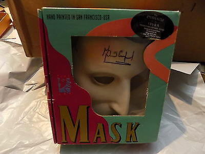 Phantom of the Opera Broadway Show Mask - Autographed by Michael Crawford in Box