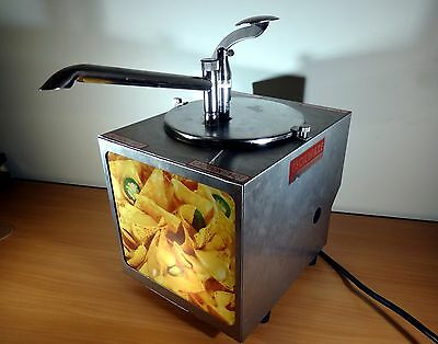 Cecilware Lighted Nacho Cheese Warmer Dispenser Holds a #10 Can Model H50NP