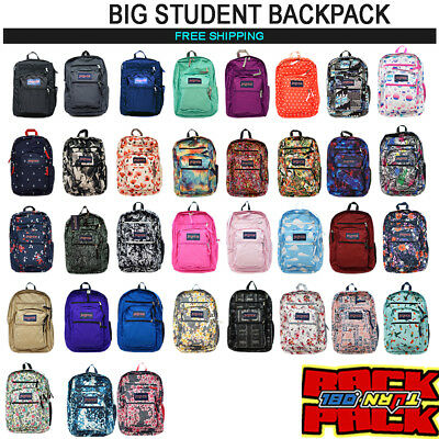 2017  New Jansport Big Student Backpack Original 100% Authentic School Book Bag