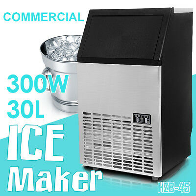 Commercial ICE Cube Maker Machine for Home Business Fast Easy Auto 65Kg+/Day