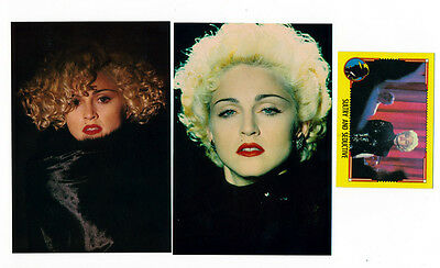 Rare Lot Madonna Breathless Mahoney Dick Tracy Promo Postcard Trading Card 1990