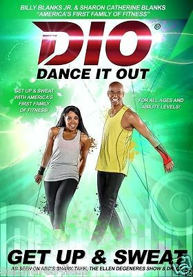 Dance It Out GET UP AND SWEAT DVD - Billy Blanks Jr. *New* Workout DVD
