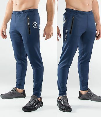 VIRUS Bioceramic KL1 Active Recovery Pants Unisex (Au15) Navy,Crossfit,Recovery