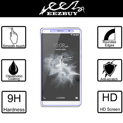 Real Tempered Glass Film Screen Protector for ZTE Axon 7 Max
