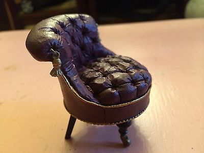 Take a Seat by Raine and Willitts Designs: Slipper Chair #24010 circa 1880