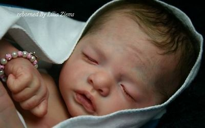*Julietta Asleep* Reborn doll kit by Natali Blick Long Sold Out Limited Edition!