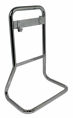 Double Tubular Chrome Fire Extinguisher Stands